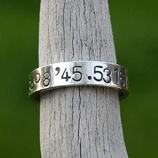 Best latitude and longitude ring Reviews
