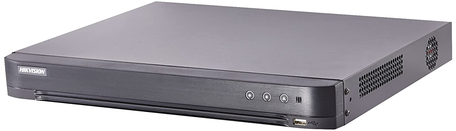 Hikvision H.265+ TURBO HD 16CH DVR 4K HDMI supports up to 8MP TVI/ 4MP AHD/2MP CVI/ plus 8CH of 6MP IP CAM (HDD not included)