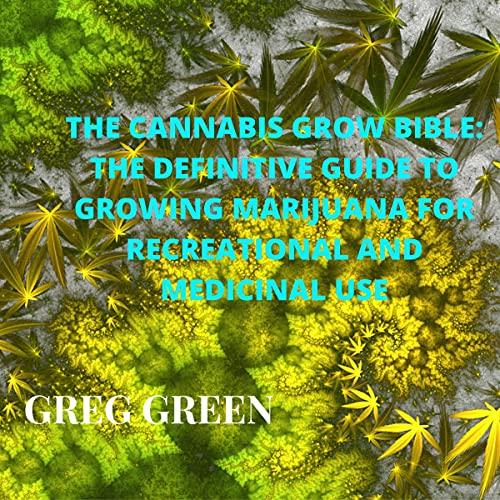 The Cannabis Grow Bible cover art