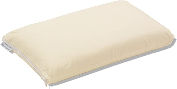 Dreamsweet Premium Brazilian Natural Latex Classic Shape Pillow With 100 Percale Cotton Cover Queen Standard Size Firm
