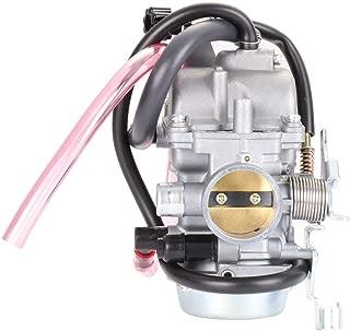 cciyu AR1245CA102RA Complete Carb Carburetor Fits 1986-1995 1996-2005 Kawasaki Bayou 300 KLF300 4-Stroke Carby Carb ATV