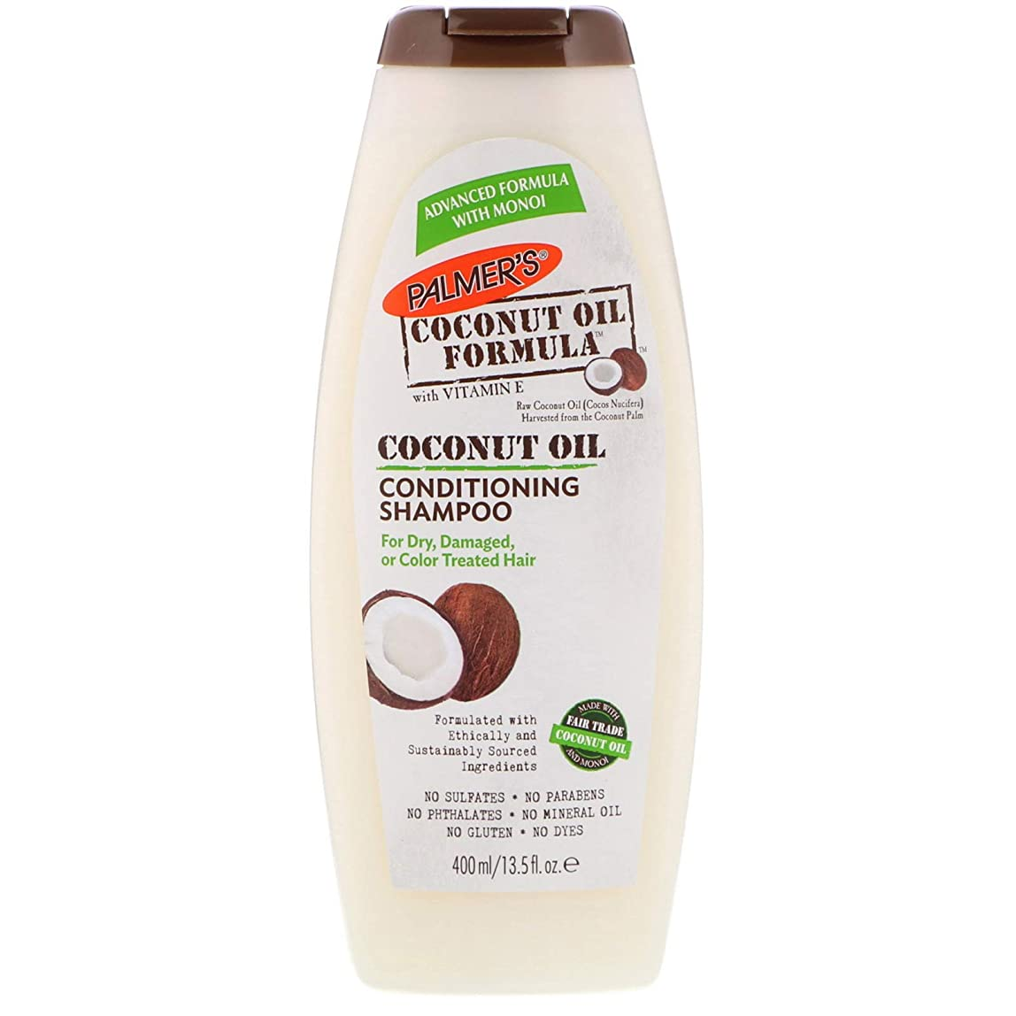 かけがえのない蚊頂点Palmer's Coconut Oil Formula Shampoo 400ml