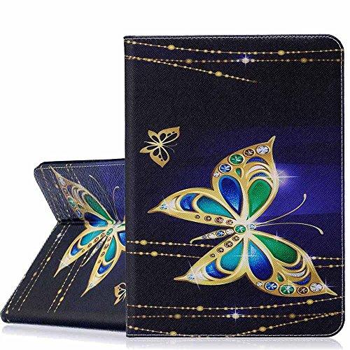 Samsung Galaxy Tab S29,7caso, A-BEAUTY pintura patrón Premium PU Cuero Flip Billetera Slim Book Case