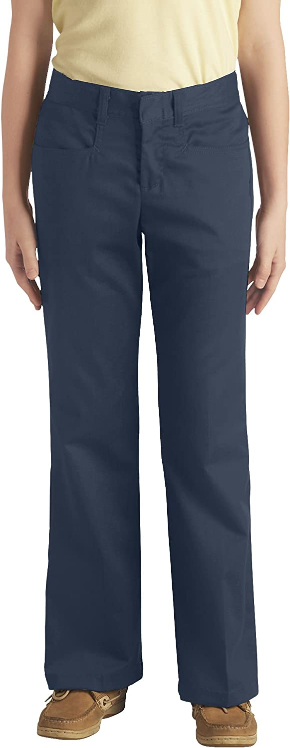 Dickies Juniors' Plus-Size Classic Stretch Bootcut Pant