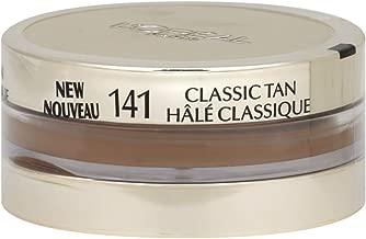 L'Oreal Visible Lift Repair Absolute Makeup, Rapid Age Reversing, #141 Classic Tan - 0.7 Oz, Pack of 2