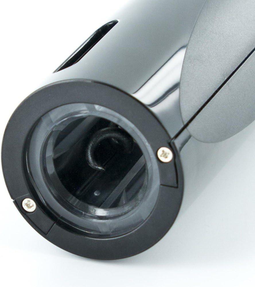 Saveur et Degustation KV7137 Tire-bouchon /électrique ABS Noir 5,30 x 5,30 x 25,90 cm
