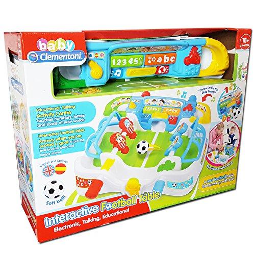 Clementoni 61289 Interactief tafelvoetbalspel (in het Britse en Spaans)