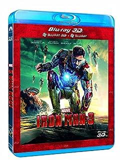 Iron Man 3 3D + Blu-Ray 2D (B00C2ST49Q) | Amazon price tracker / tracking, Amazon price history charts, Amazon price watches, Amazon price drop alerts