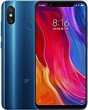 Xiaomi Mi 8 64GB + 6GB RAM, Dual Camera, Snapdragon LTE Factroy Unlocked Smartphone, Global Version (Blue)