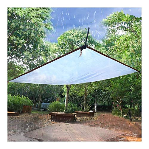 Glass Clear Tarpaulin Waterproof Clear Tarpaulin With Eyelets Canopies And Tarps Heavy Duty Clear Weatherproof Tarp Foldable Plant Canopy Rainproof Cover (Size : 5mx5m)
