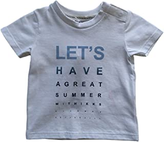 IKKS Baby Boys Let's Have A Great Summer Tee Shirt White (2)