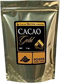 Power Superfoods Cacao Gold Butter Chunks, 1 kg