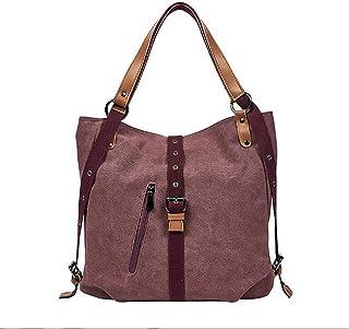 Fanspack Shoulder Tote Bag Canvas Large Capacity Hander Bag Casual Hand Bag Messenger Bag