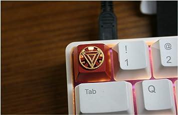 YEZIO KeyCaps para teclados Hecho a Mano de Resina de Teclado ...