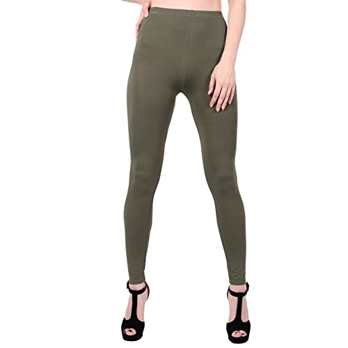 0ca8cbed622c37 Oh! Pretty™ Plain Womens Leggings | Full Length High Waisted Stretch Ladies  Leggings