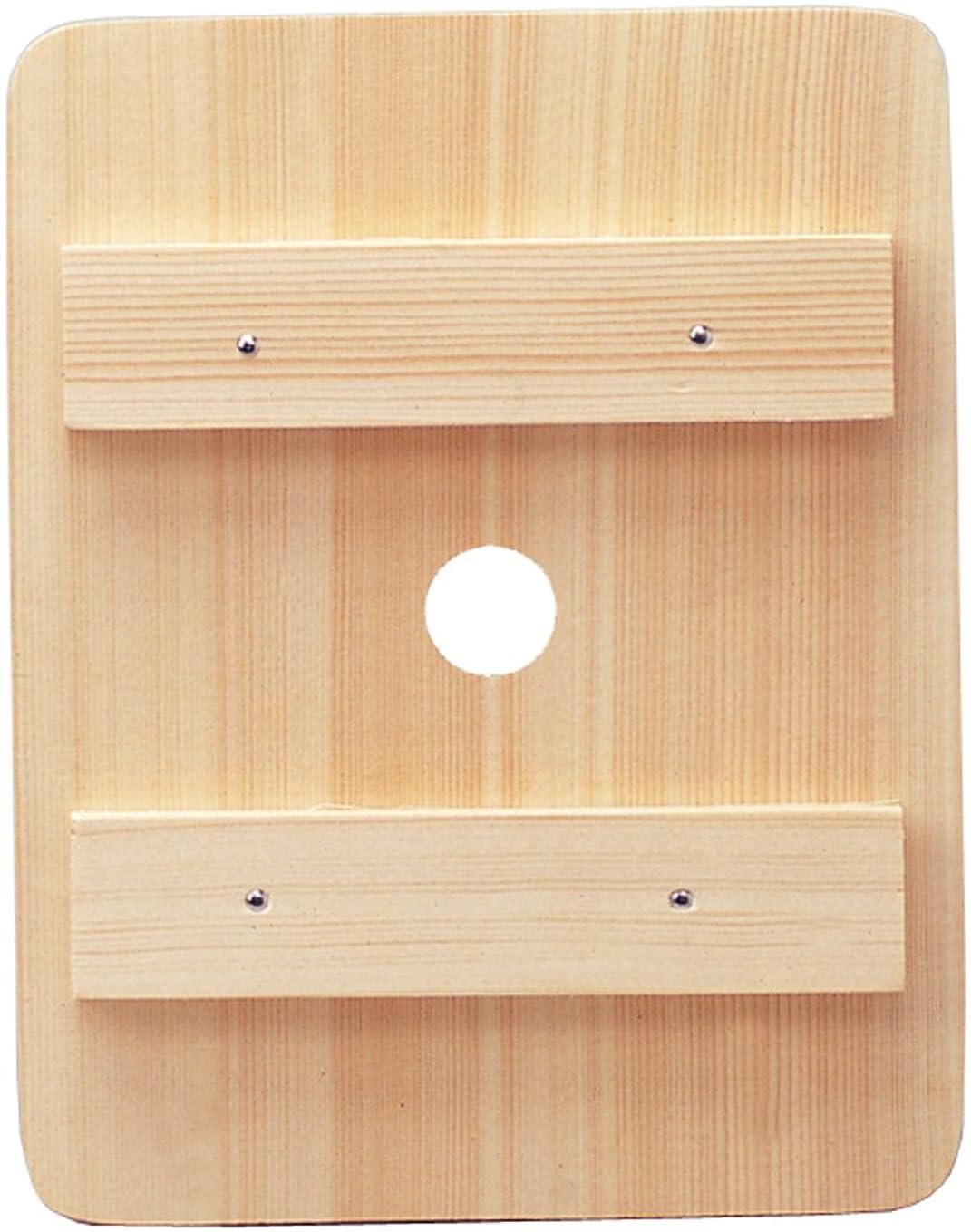 長いです不快必要条件高木金属 押し蓋 漬物用 木製 角型 M用 OB-KM