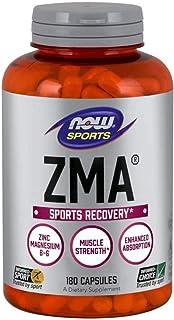 NOW Sports Nutrition, ZMA (Zinc, Magnesium and Vitamin B-6), Enhanced Absorption, Sports..