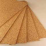 FUTURAZETA - Pannello in sughero naturale compresso a grana media spessore 1 cm. (Pacco 10 pannelli)