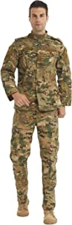 Military Tactical Men's Combat Uniform Set Shirt and Pants Sets Cp Camo Uniforms for Army Airsoft Paintball Hunting