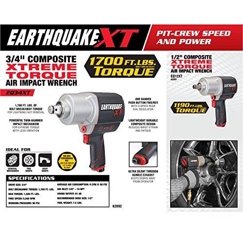 Earthquake XT Composite 3/4