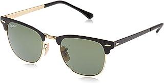 Ray-Ban Men's Clubmaster Metal Sunglasses
