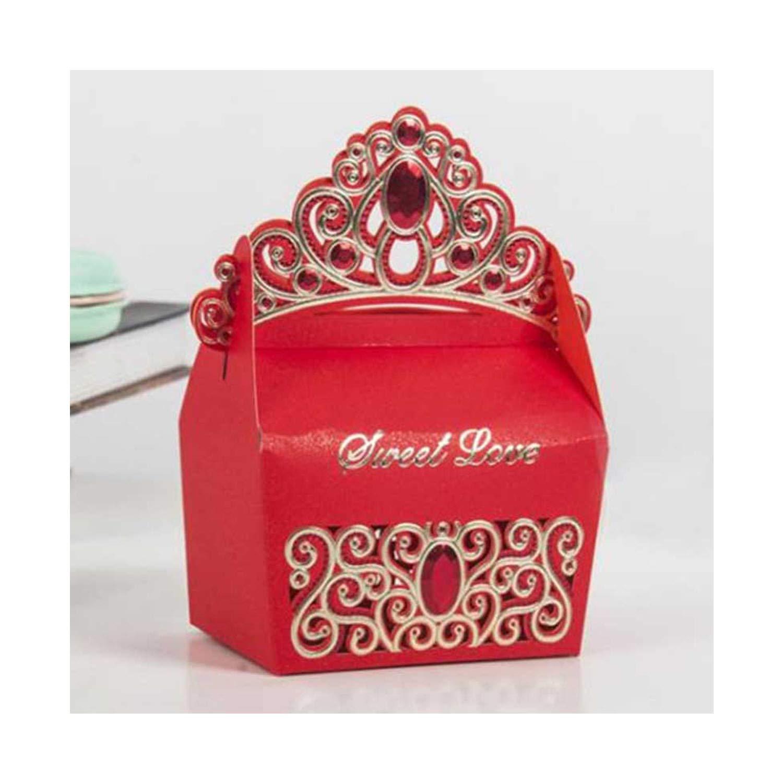 10pcs/lot Bronzing Candy Box Wedding Candy Box Creative Gift Box