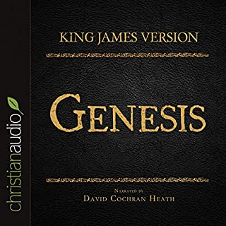 Holy Bible in Audio - King James Version: Genesis audiobook cover art
