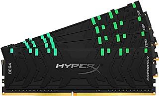 HyperX Predator RGB 128GB 3000MHz DDR4 CL16 DIMM XMP (Kit of 4) HX430C16PB3AK4/128