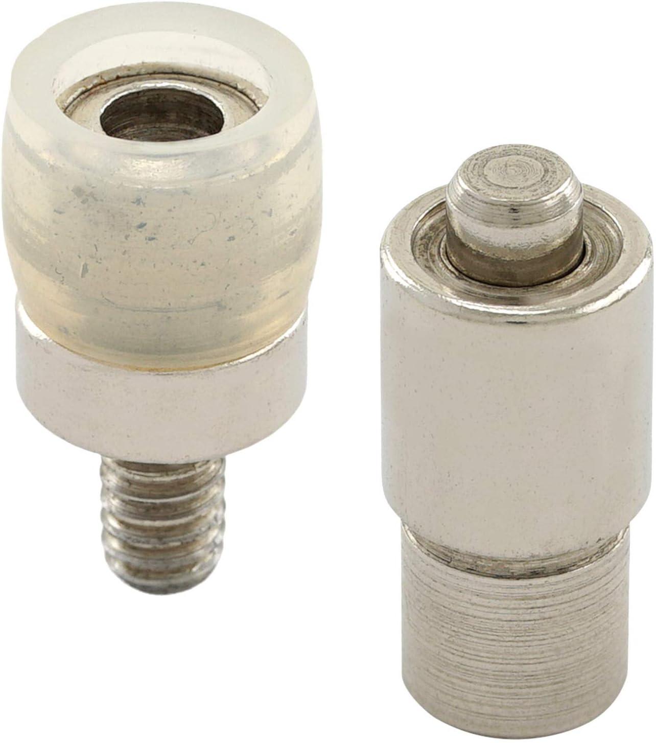 bestehend aus Spindelpresse Drehspindel Set Gold, 10 mm GETMORE Parts Spindelpressen Druckknopfwerkzeug und 100 S-Feder-Druckkn/öpfen