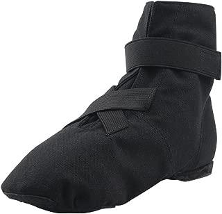 MSMAX Dance Sneakers Canvas Women's Ballroom Jazz Character Ballet Dance Shoe