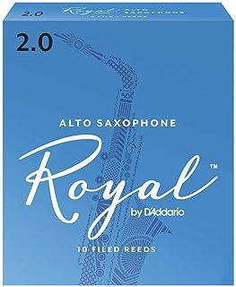 Royal Alto Sax Reeds, Strength 2.0, 10-pack
