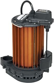 Liberty Pumps 457 Vertical Magnetic Float 1/2 HP Submersible Sump Pump, BLACK