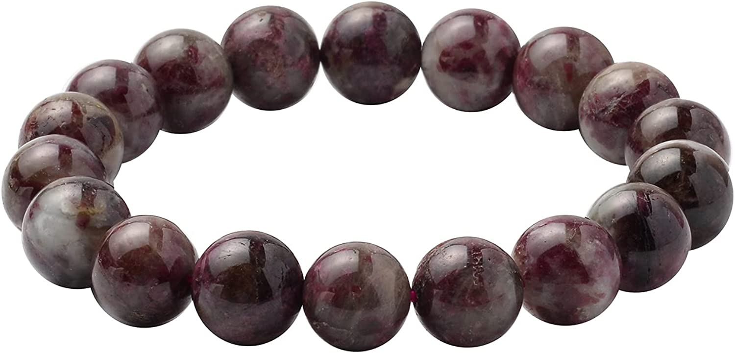 Shop LC Pink Tourmaline October Birthstone Manufacturer regenerated product Bracel Stretch Beaded New mail order