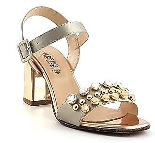 REPO PHIL GATIER scarpe donna sandali 31528-E9 NERO