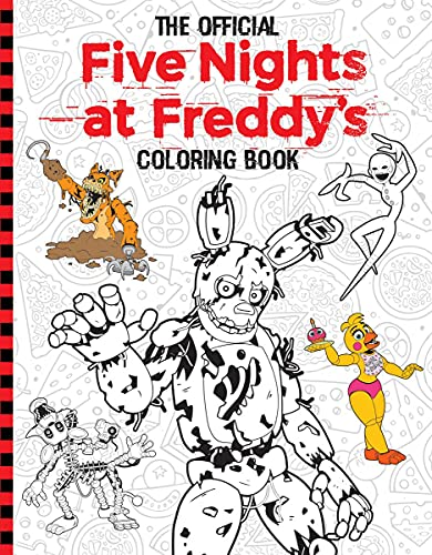 Five Nights at Freddy's Official Coloring Book: An AFK Book