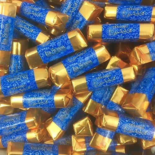 Cioccolatini al Latte Feeling Collection La Suissa g 500 - Bastoncini di Cioccolato al Latte (cacao min. 31%) - Senza Glutine