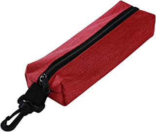 Yunzee Crochet Hook Bag,Oxford Bag Holder Organizer for Various Crochet Needles and Knitting Accessories, Compact and All-in-one.