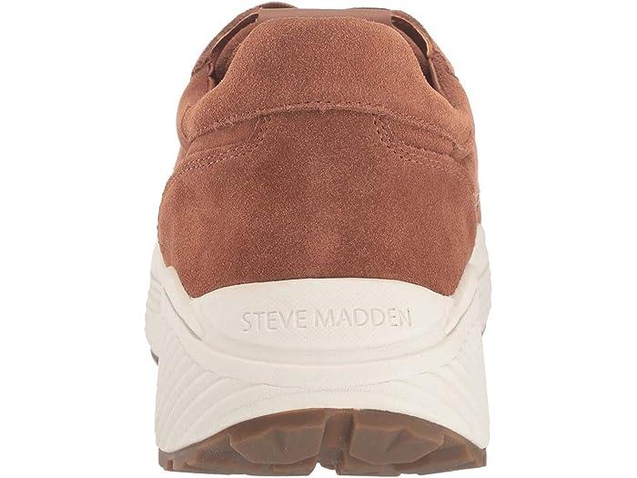 Steve Madden Sardan Sneaker Cognac Suede Sneakers & Athletic Shoes