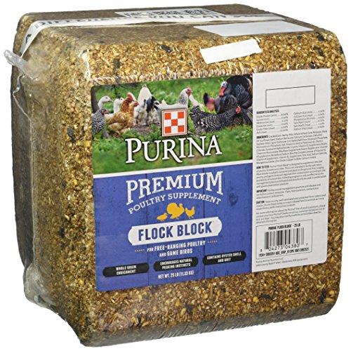 Purina| Flock Block Supplement | 25 Pound (25 lb.) Block