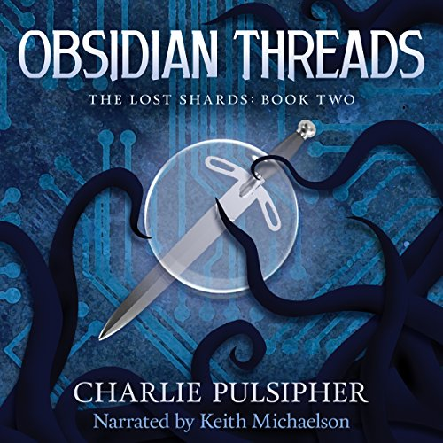 Obsidian Threads audiobook cover art