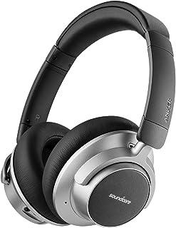 Soundcore Space NC Bluetooth hoofdtelefoon van Anker, met ruisonderdrukking, Touch Control, 20 uur batterijduur, voor reiz...