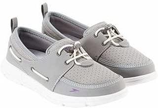 Women's Port Lightweight Breathable Water Shoe (9, Grey)