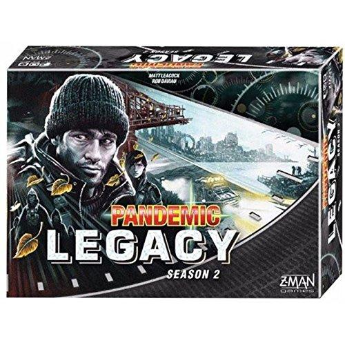 Devir Iberia- Pandemic Legacy, Temporada 2, Color Negro (225464)