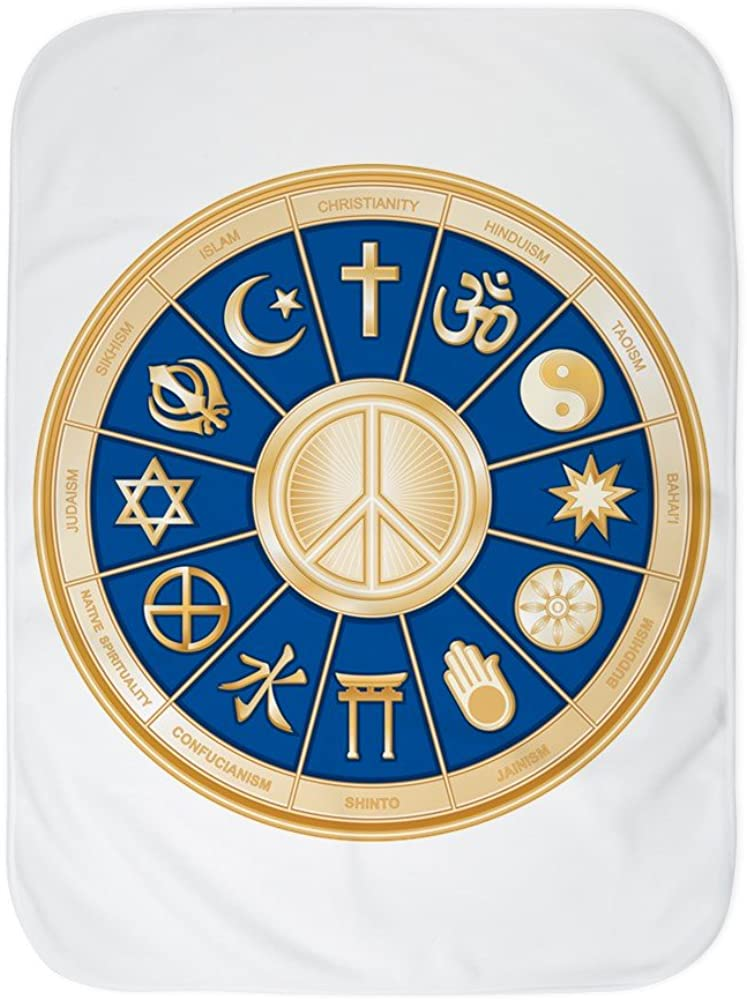 Royal 25% OFF Lion Baby Excellence Blanket White Symbol International Religio Peace