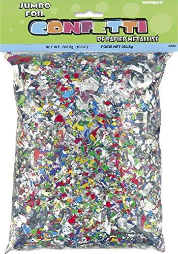 Unique Party Supplies 9069 Folien-Konfetti - Mehrfarbig - 280 g