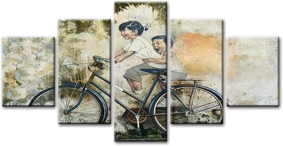 Graffiti quality assurance Painting Art 5 Piece Max 58% OFF Modern A Canvas Prints Wall
