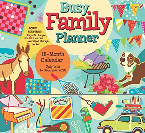 Busy Family Planner 2020 Calenda...