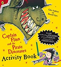 Captain Flinn And The Pirate Dinosaurs Activity Book