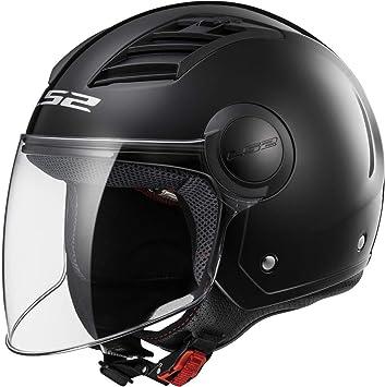 Ls2 Herren Airflow Motorrad Helm Schwarz Xxl Auto
