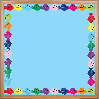 Hygloss Products Spanish Counting Die-Cut Bulletin Board Border – Classroom Decoration – 3 x 36 Inch, 12 Pack